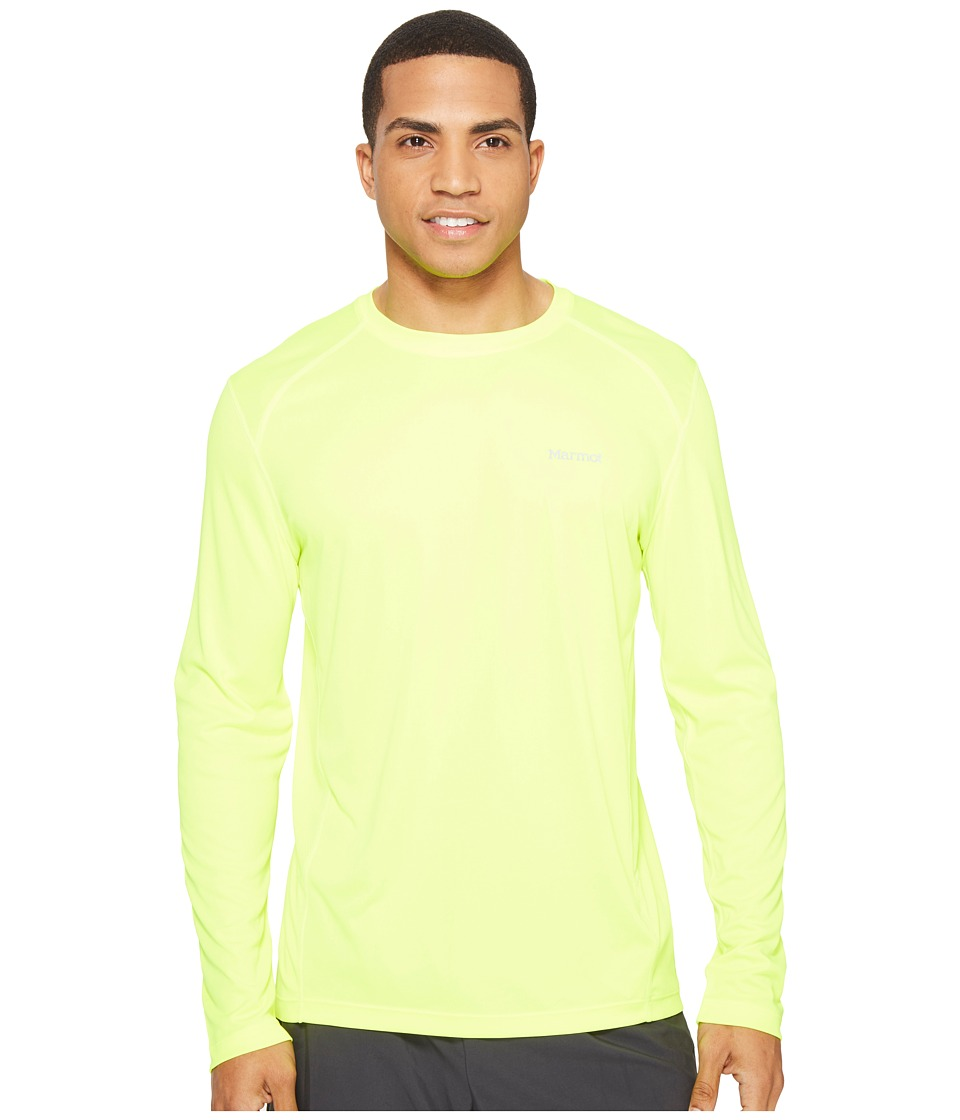 Marmot Windridge L/S (Hyper Yellow) Men