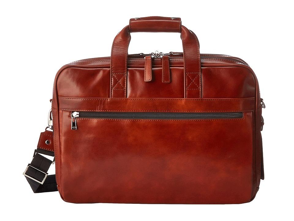 Bosca Stringer Bag (Amber) Bags