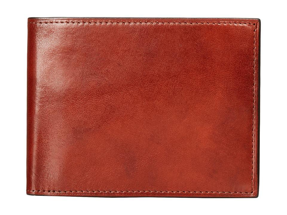 Bosca Continental ID Wallet Amber Wallet Handbags