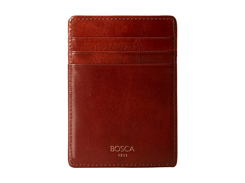 Bosca Front-Pocket Wallet - Amber