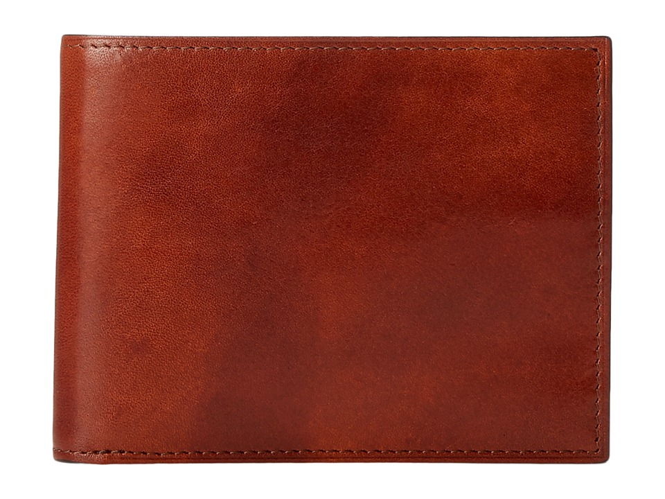 Bosca - Eight-Pocket Executive Wallet (Amber) Wallet Handbags