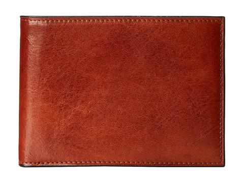 Bosca Wallet w/ Passcase - Amber
