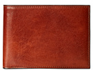 Bosca Wallet w/ Passcase (Amber)
