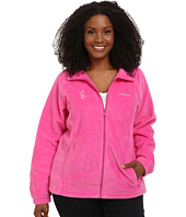 Columbia - Plus Size Tested Tough In Pink™ Benton Springs Full Zip