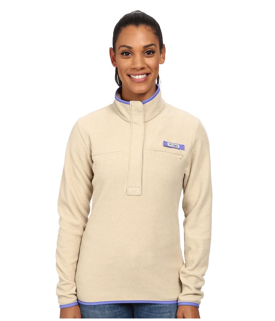Columbia - Ombre Springs Fleece Jacket (Fossil Heather/Purple Lotus) Women