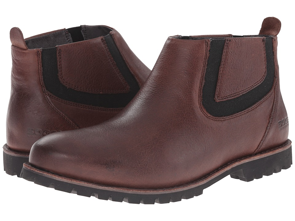 Bogs Johnny Chelsea Boot (Coffee) Men