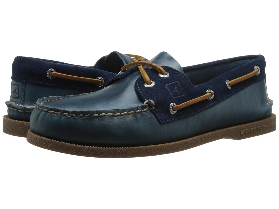 Sperry Top-Sider - A/O 2-Eye Cyclone (Blue) Men