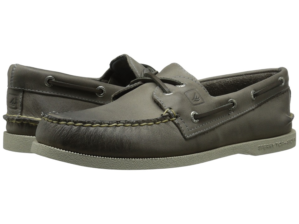 Sperry Top-Sider A/O 2-Eye Cross Lace (Grey) Men