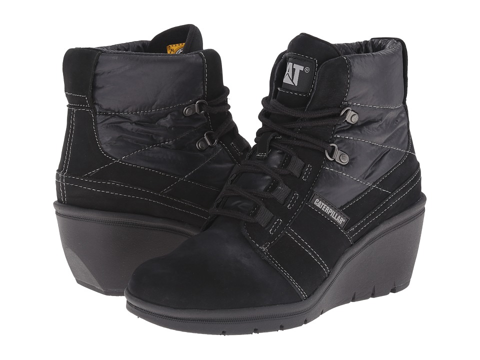 Caterpillar Casual Harper Black Womens Work Boots