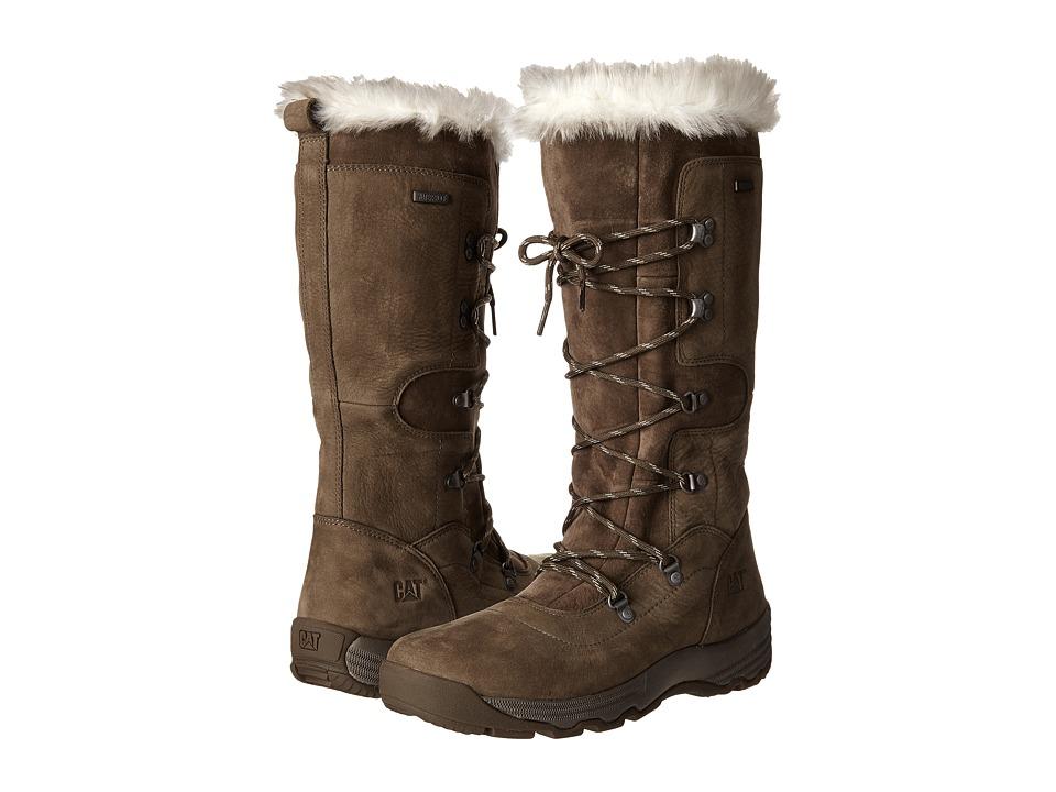 Caterpillar Casual Devlin WP Fur Spruce Womens Work Boots