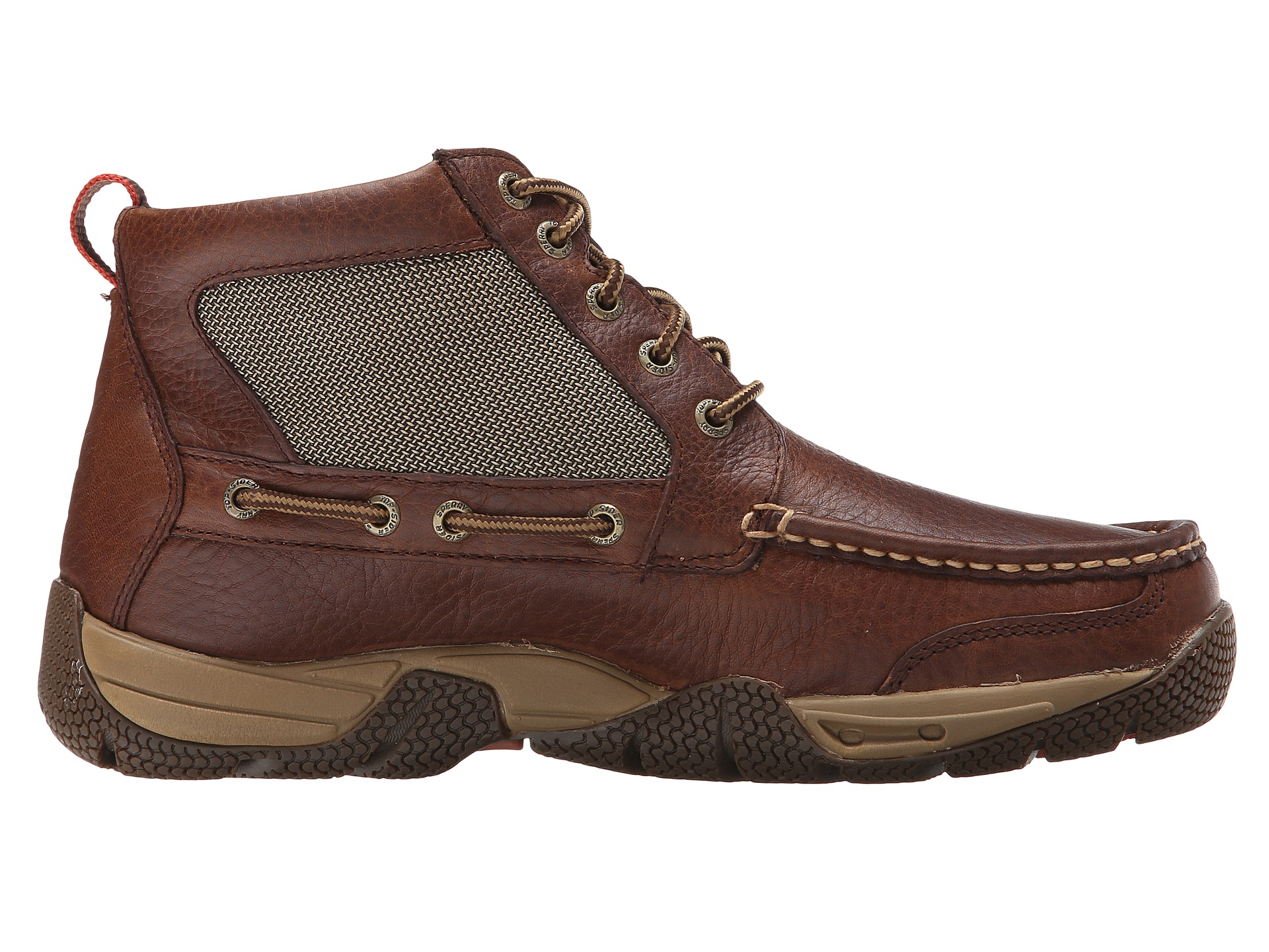 Luxury J.crew Sperry Wool And Leather Chukka Boots In Brown For Men | Lyst