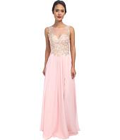 Faviana - Glamour Chiffon Lace Bust Dress S7503