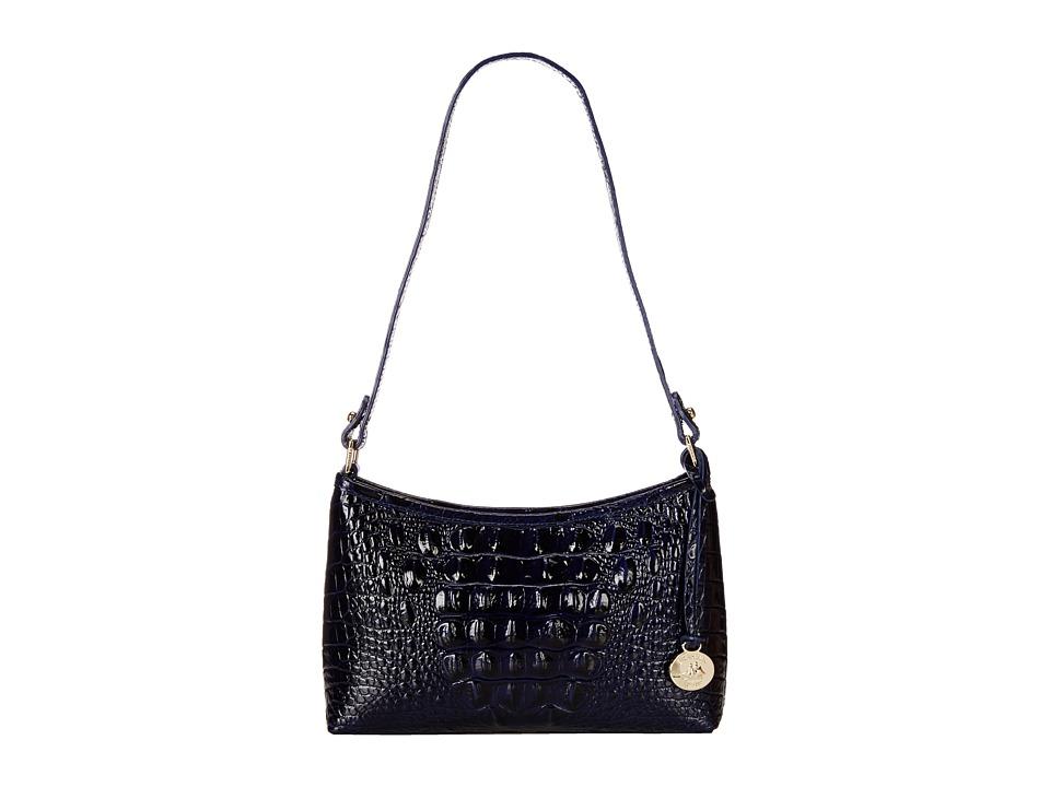 Brahmin Anytime Mini Ink Shoulder Handbags