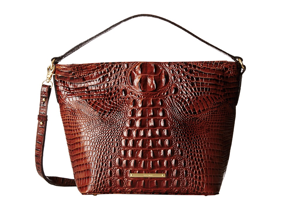 Brahmin Small Harrison Hobo Pecan Hobo Handbags