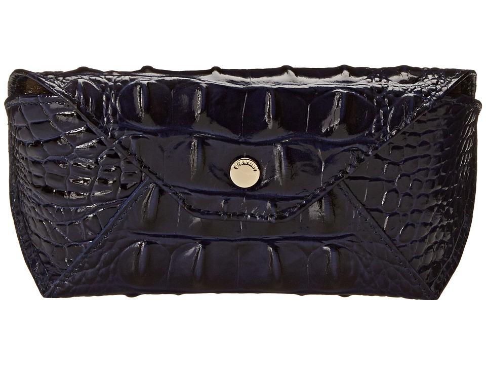 Brahmin Eyeglass Case Ink Clutch Handbags