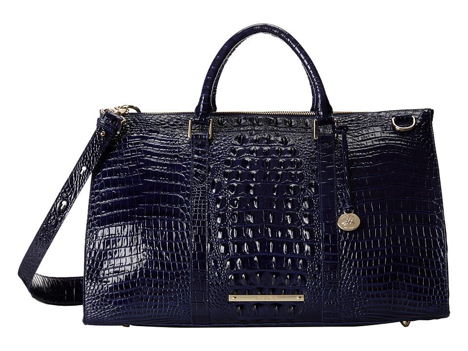 Brahmin Anywhere Weekender Ink Handbags