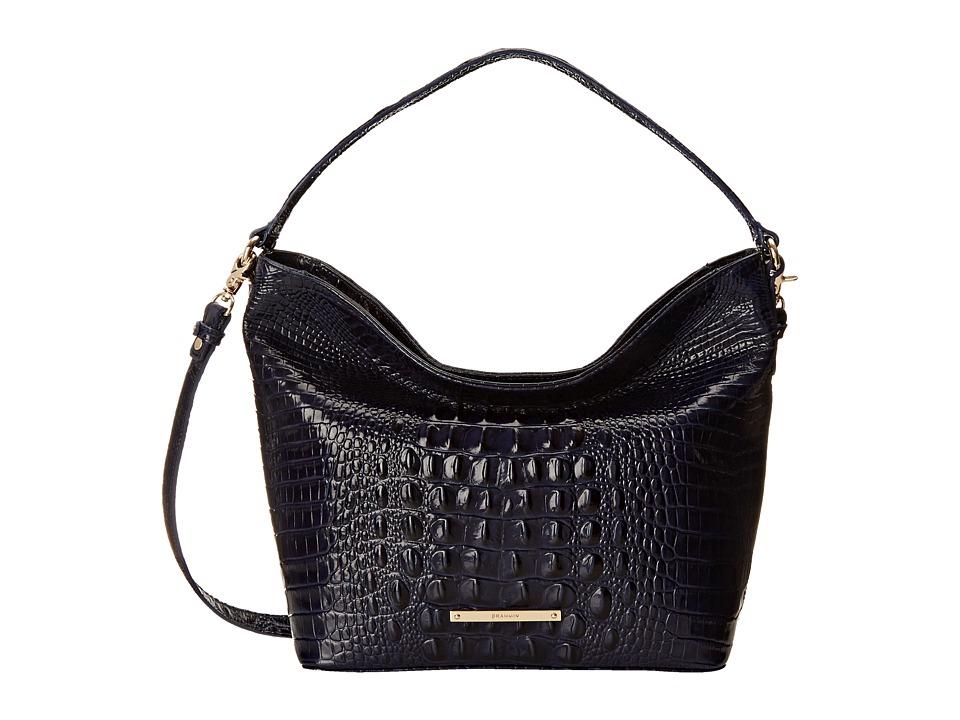 Brahmin Small Harrison Hobo Ink Hobo Handbags