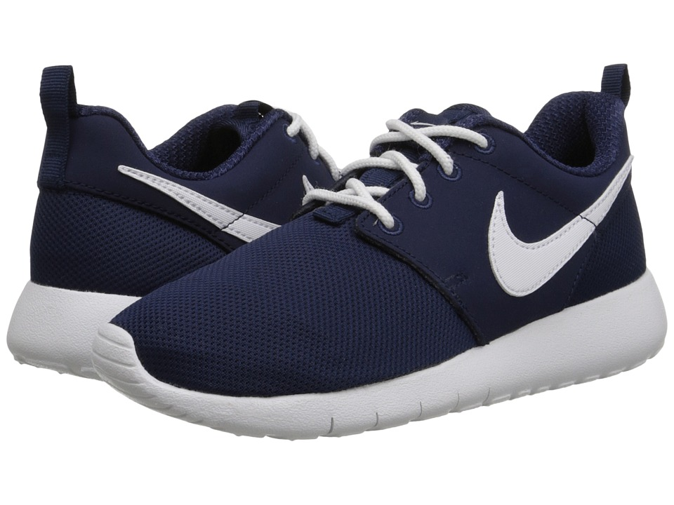 Nike Kids Roshe One (Little Kid/Big Kid) (Midnight Navy/White) Kids Shoes