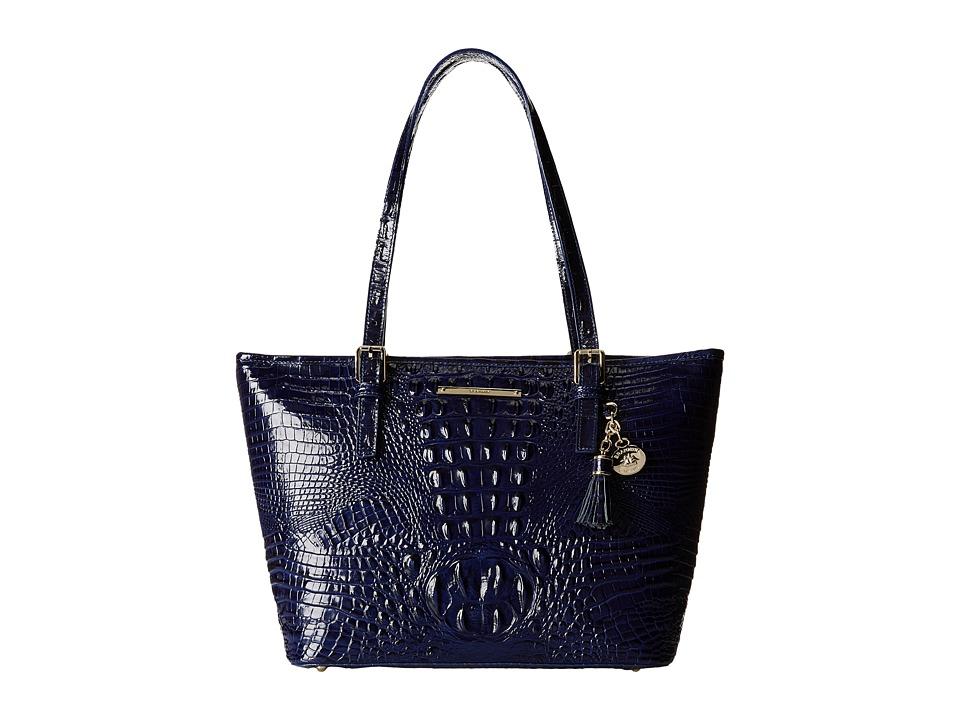 Brahmin Medium Asher Ink Tote Handbags