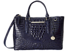 Brahmin Small Lincoln Satchel (Ink)