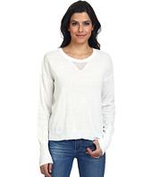 LAmade - Open V-Neck Split Back Sweater