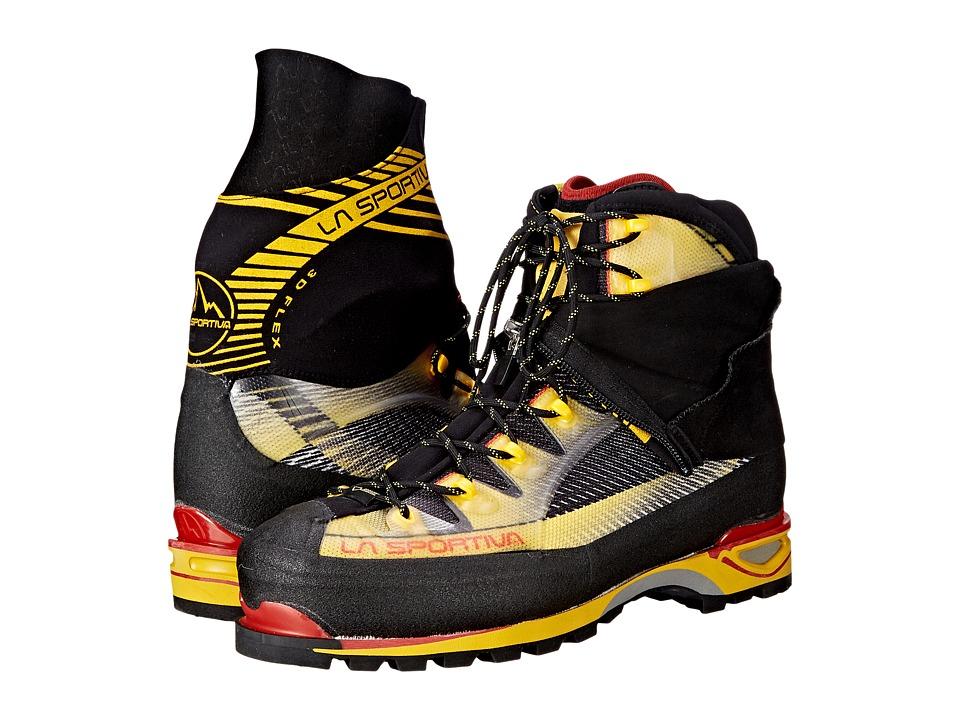 La Sportiva Trango Ice Cube GTX Black/Yellow Boots