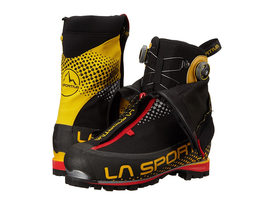 La Sportiva G2 SM Black/Yellow Boots