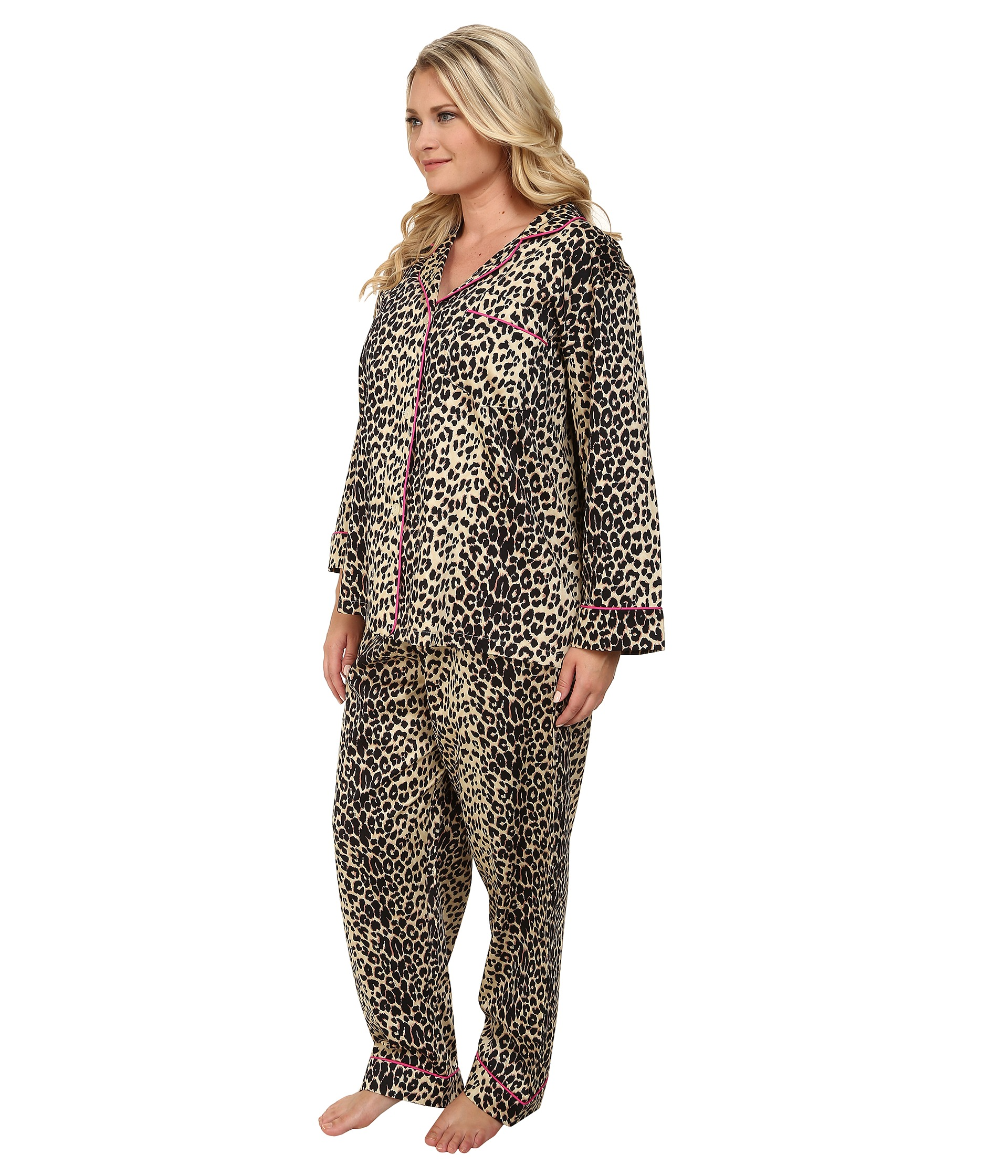 BedHead Plus Size Notch Collar Pajama - Zappos.com Free Shipping ...