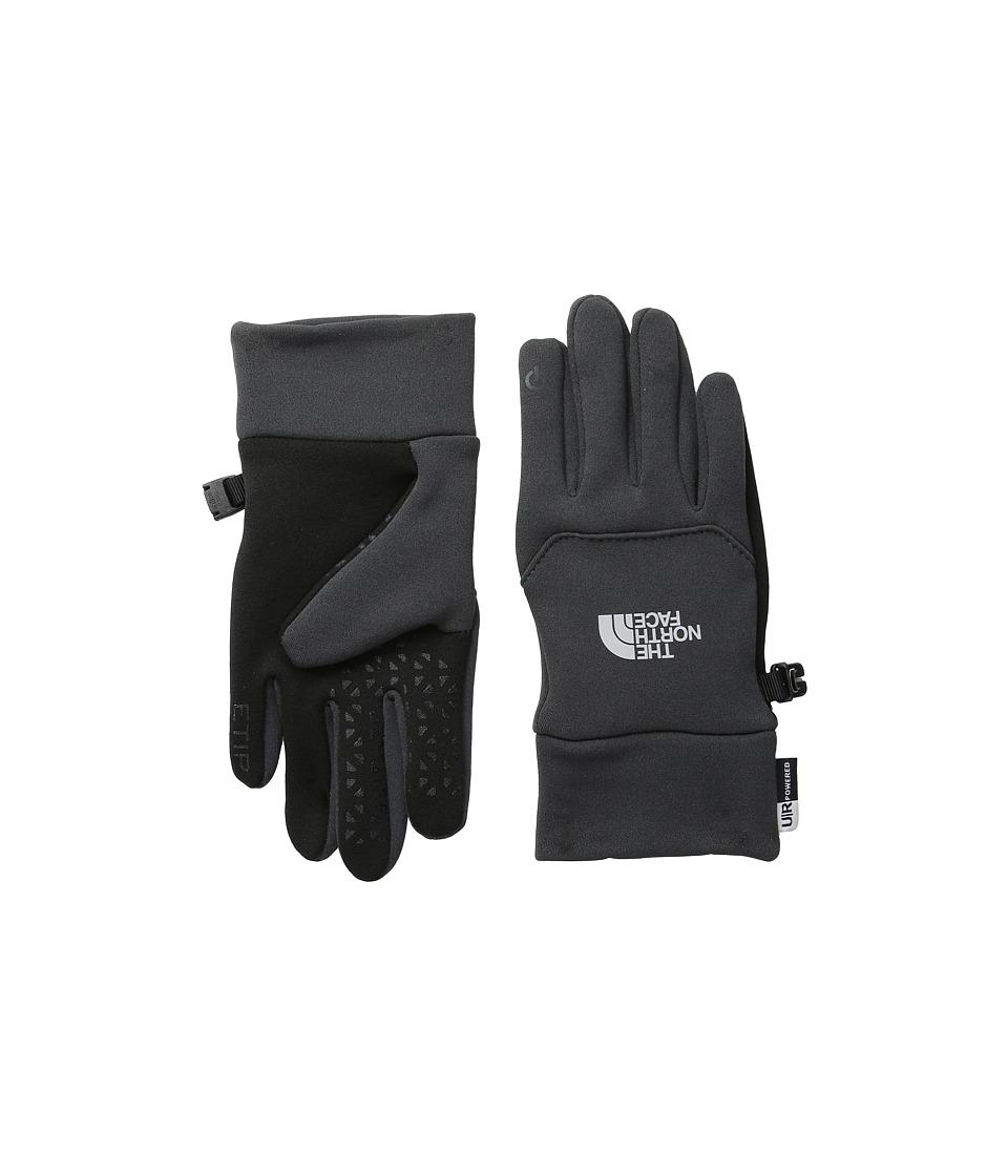 The North Face Kids Youth Etip Glove (Big Kids) (Asphalt Grey) Extreme Cold Weather Gloves
