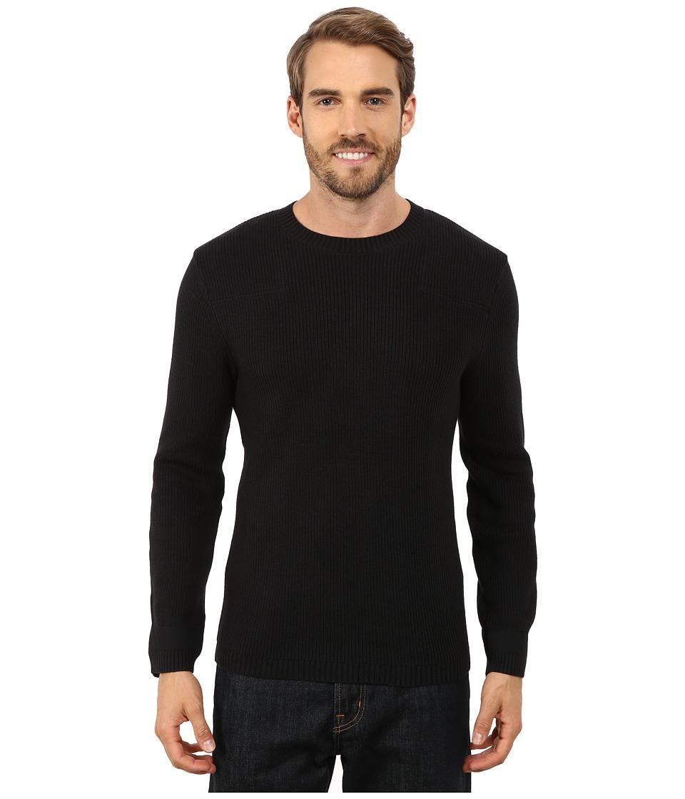 ToadampCo Emmett Crewneck Sweater Black Mens Sweater