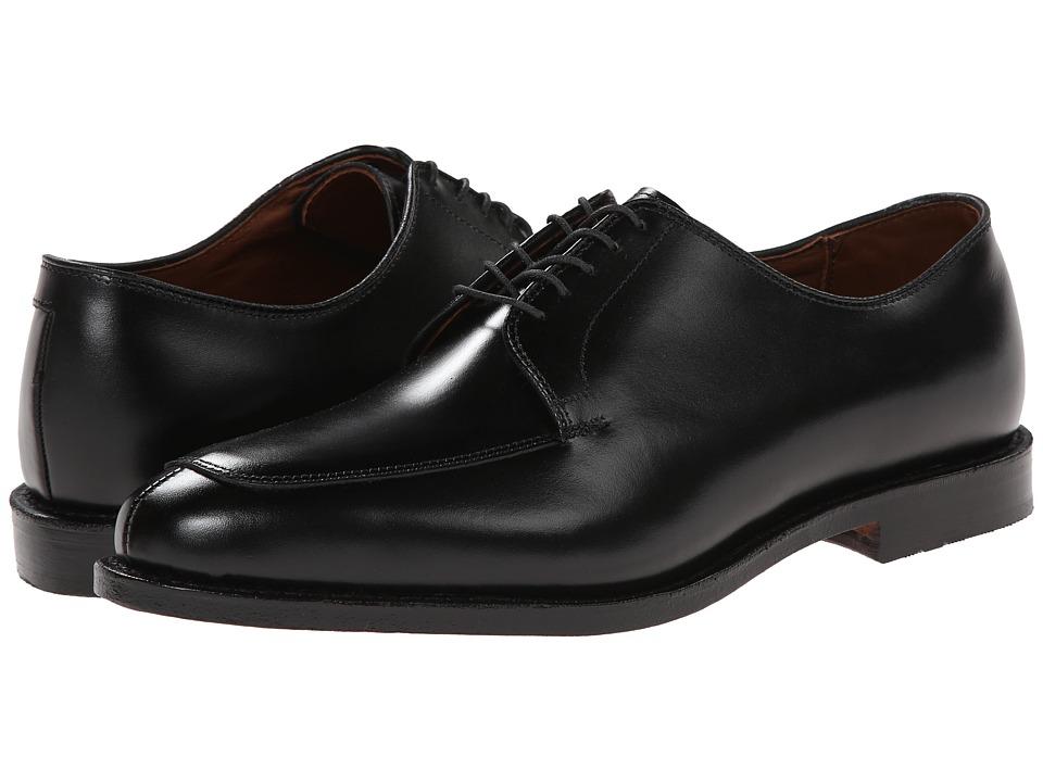 Allen Edmonds Delray Black Mens Lace Up Moc Toe Shoes