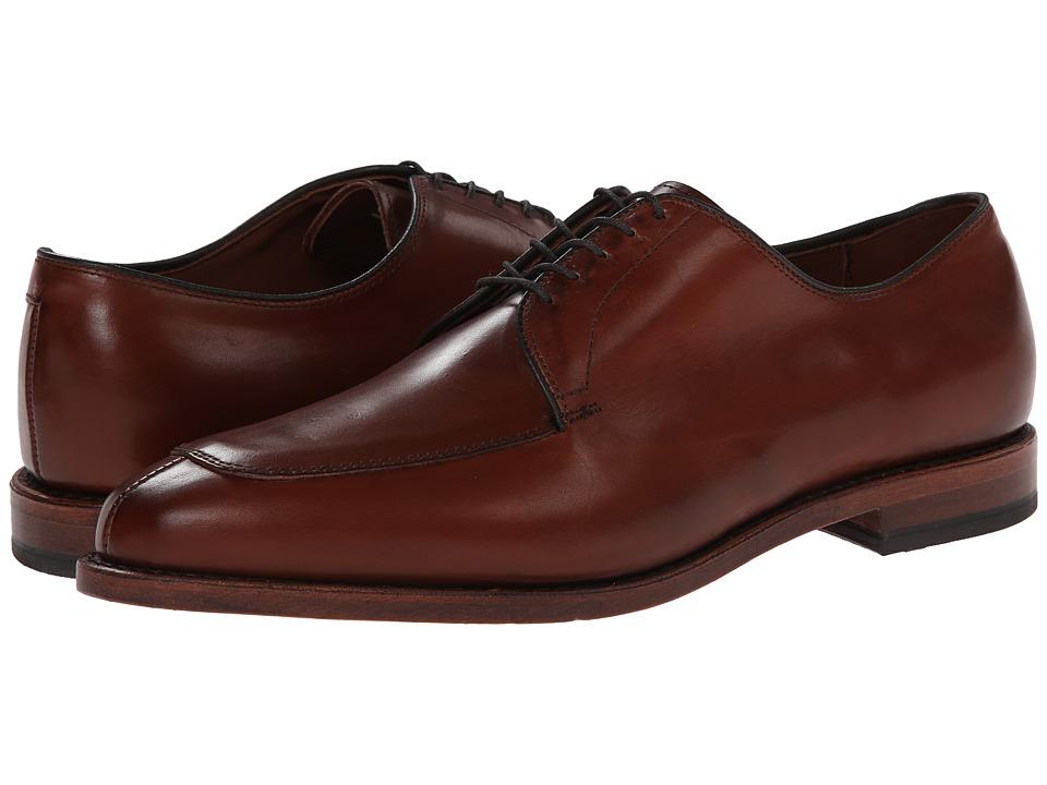 Allen Edmonds Delray Chili Mens Lace Up Moc Toe Shoes