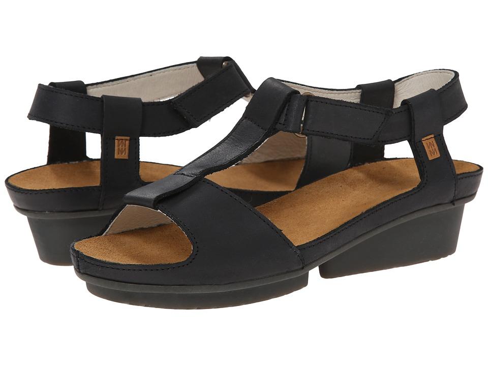 El Naturalista Code ND21 Black Womens Shoes