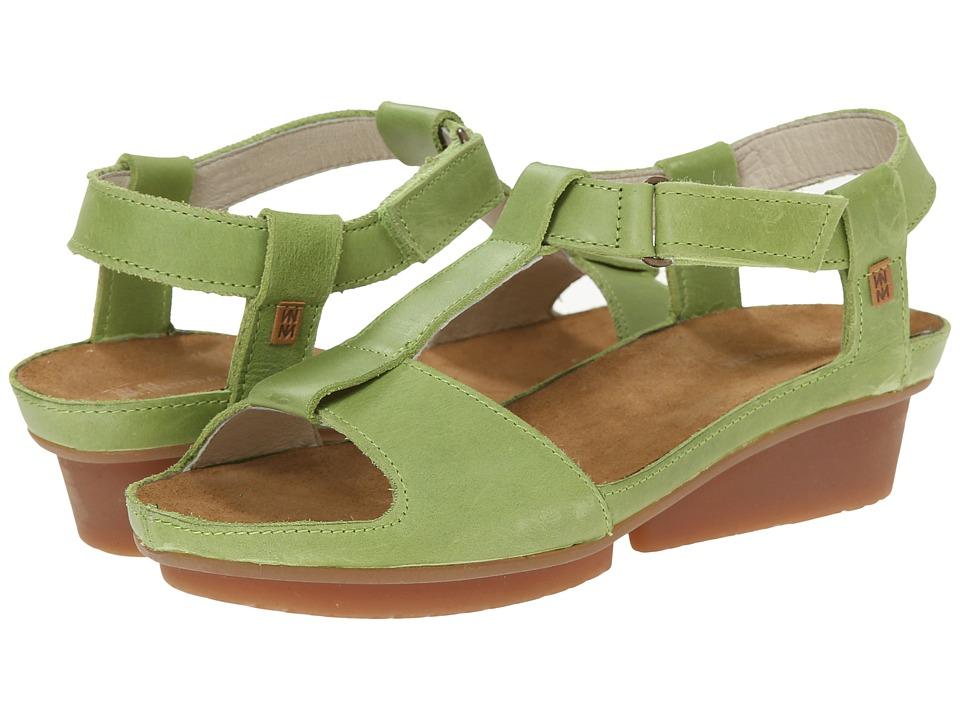 El Naturalista Code ND21 Green Womens Shoes