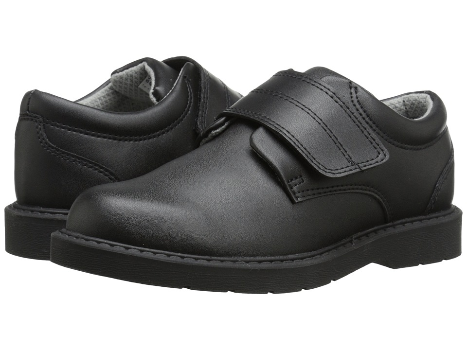 School Issue Scholar HL Toddler/Little Kid/Big Kid Black Leather Boys Shoes