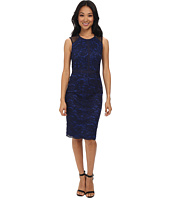 Maggy London - Lace Sheath w/ Mesh Detail