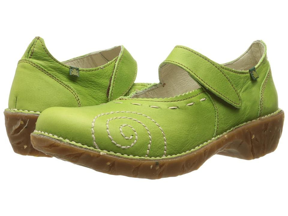 El Naturalista Yggdrasil N095 (Green 2) Maryjane Shoes