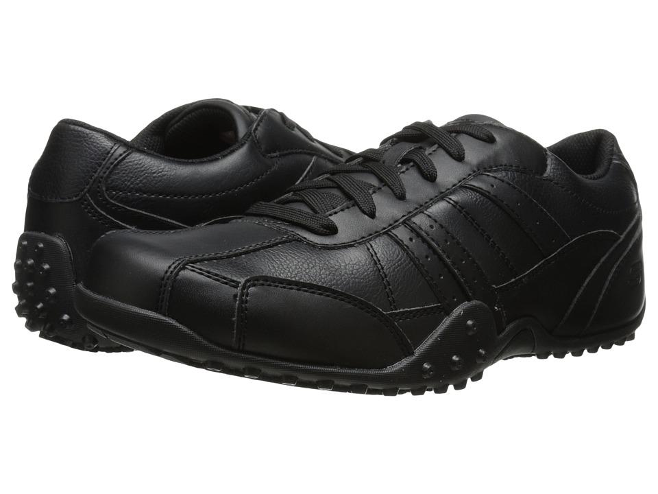 SKECHERS Work - Elston (Black) Mens Work Boots