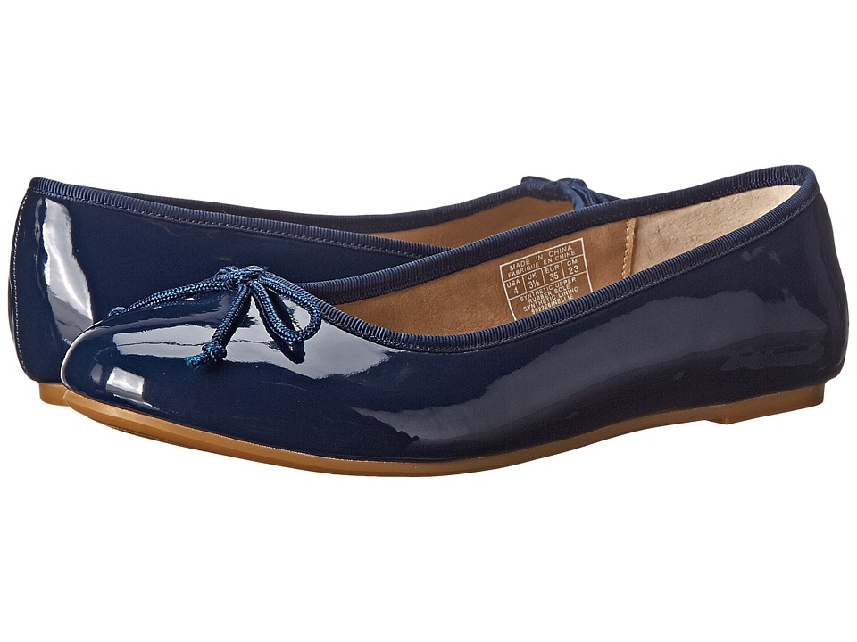 Polo Ralph Lauren Kids Nellie (Little Kid/Big Kid) (Navy Patent) Girl's Shoes