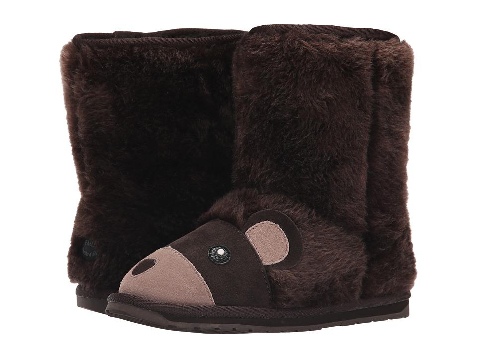 EMU Australia Kids Brown Bear (Toddler/Little Kid/Big Kid) (Chocolate) Kids Shoes
