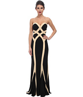 Faviana - Jersey Two-Tone Strapless Dress 7571