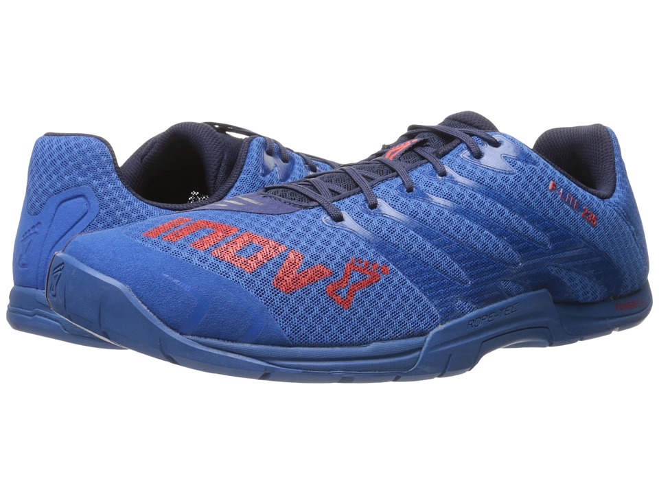 inov 8 F Lite 235 Blue/Navy/Red Mens Running Shoes