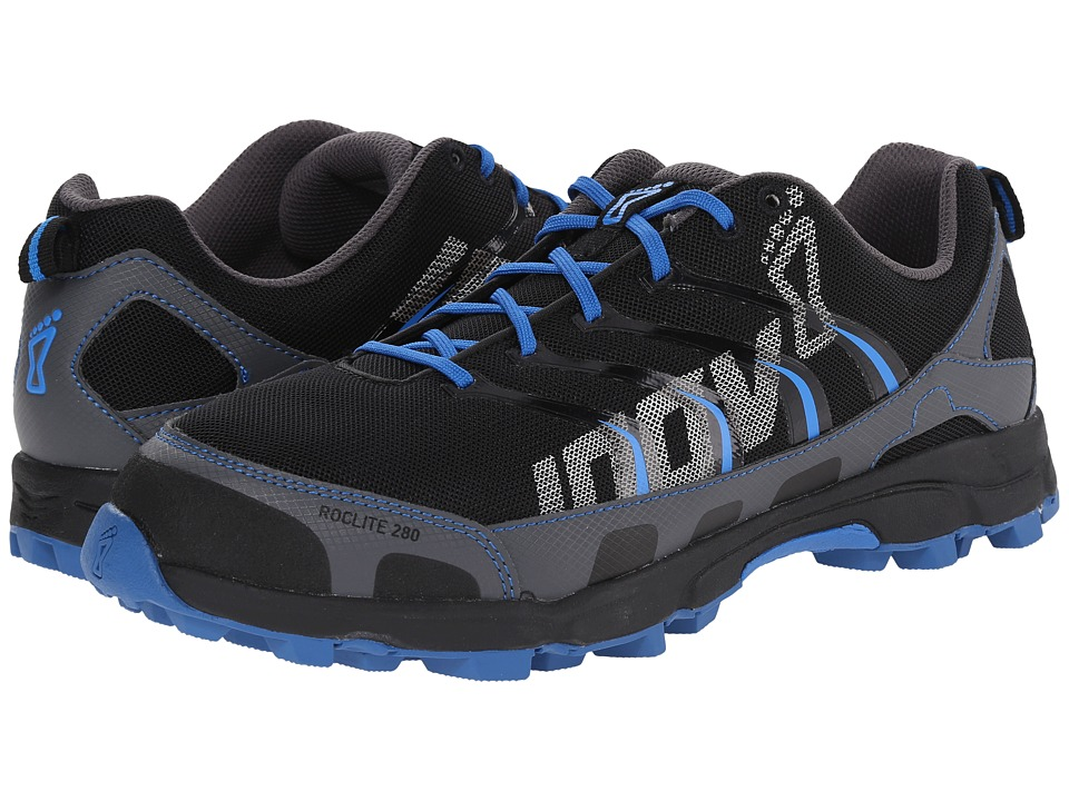 inov 8 Roclite 280 Grey/Blue/Black Mens Running Shoes