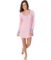 BedHead - Long Sleeve Henley Nightshirt
