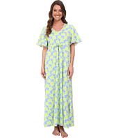 BedHead - Short Sleeve Tie Waist Caftan