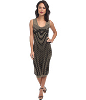 Nicole Miller - Pixel Jacquard Tank Dress