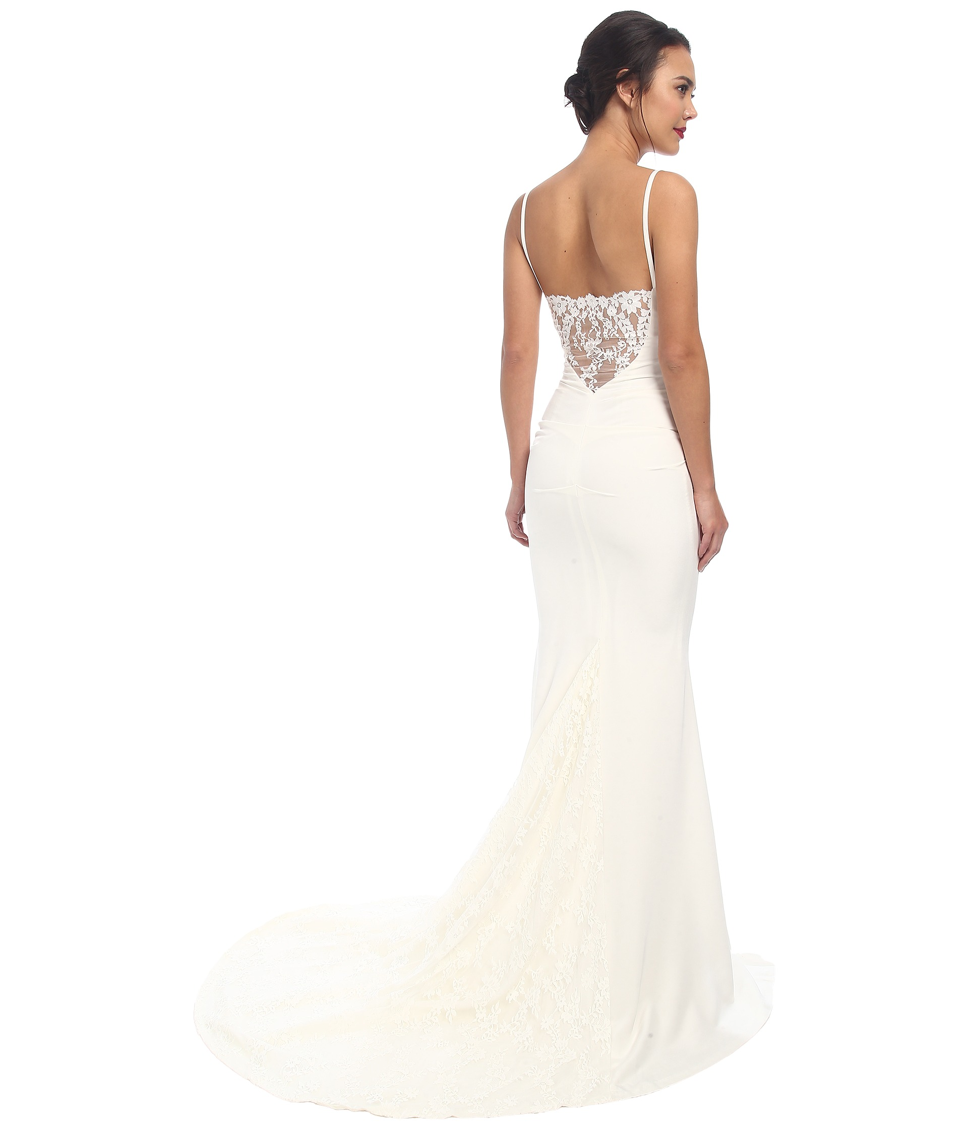 Nicole Miller Lace Wedding Dress – fashion dresses