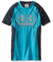 Under Armour Kids - Heatgear® Armour Up S/S Fitted Shirt (Big Kids)