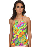 Trina Turk - Polynesian Palms High Neck Tankini