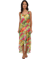 Trina Turk - Polynesian Palms High-Low Dress Cover-Up